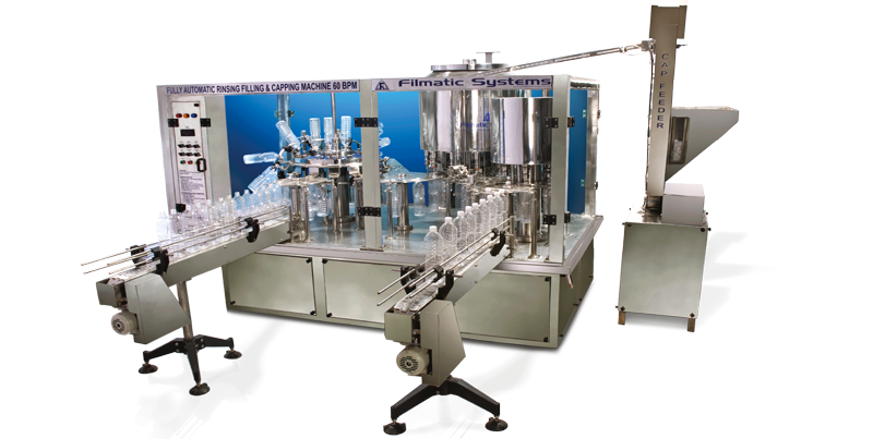 Automic 60 BPM |Mineral Water Filling Machine Manufacturers